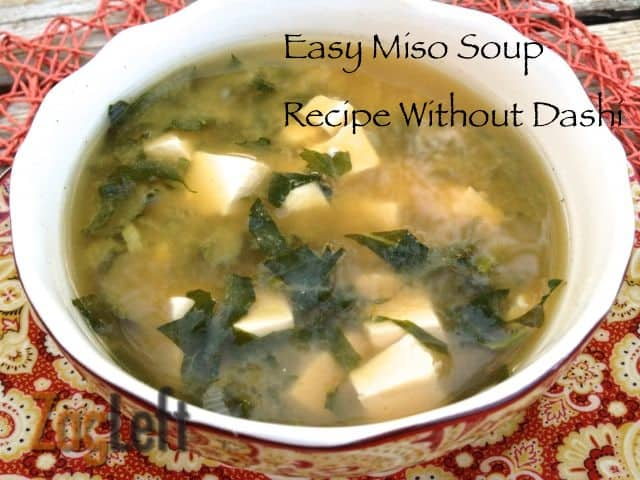 Easy Miso Soup Recipe Without Dashi from Zagleft